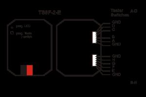 Esquema conexionado pulsador
